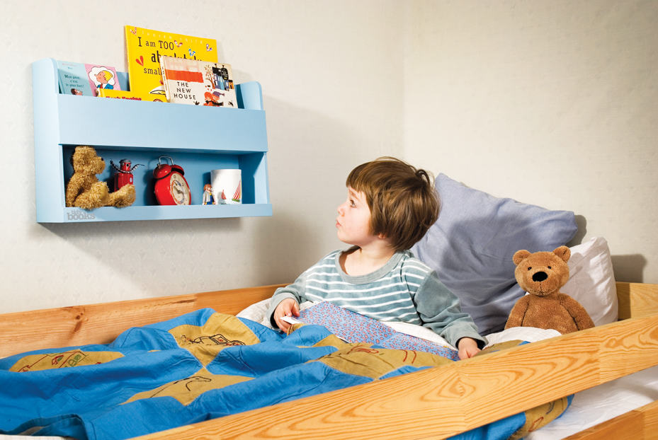 Tidy Books Bunk Bed Buddy Blue - Looking - Low Res
