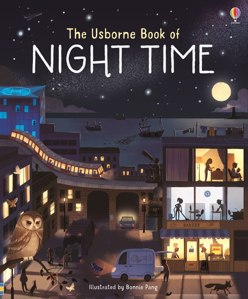 usborne books review, usborne books, tidy books, kids book review, recommended kids books reading, usborne book of night time