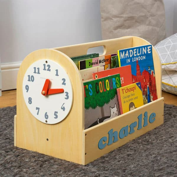 Tidy Books Personalised Wooden Box Natural