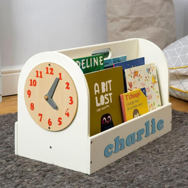 Tidy Books Personalised Wooden Box Ivory