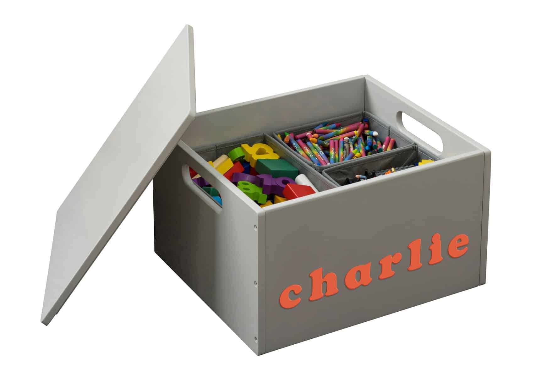 Personalised Wooden Toy Box – the Tidy Books Sorting Box