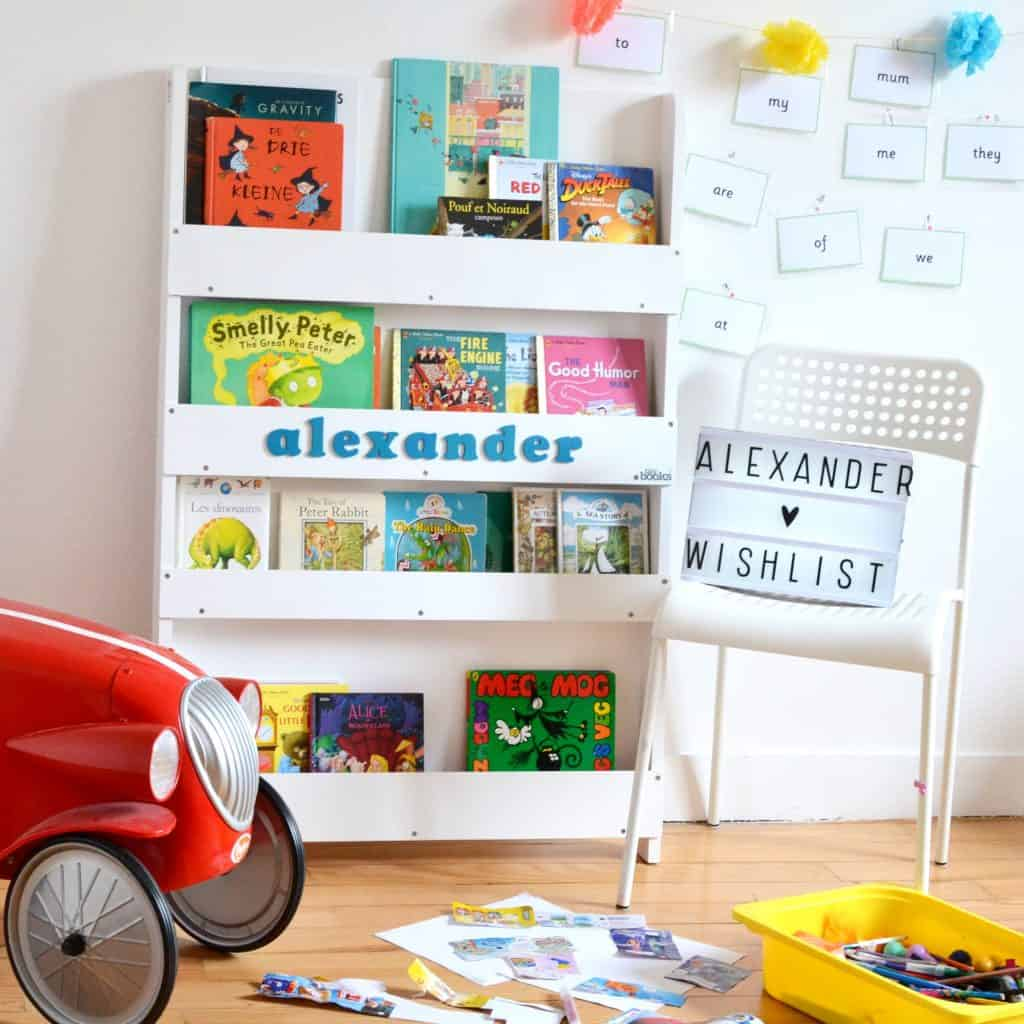 tidy books bookcase helping you to buy less