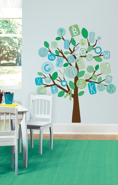 rmk2056slm_blue_abc_tree_giant_wall_decals_roomset